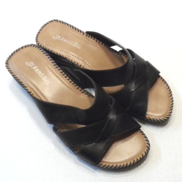 St Johns Bay Slideon Womens Sandals